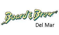 board and brew, del mar, ca