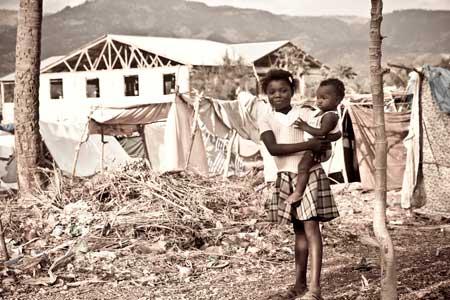 2010 haiti devastation from hurrican hazel